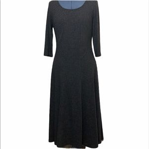 Robbie Bee Gray Lined Dress size Large